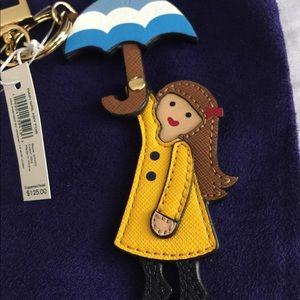 Tory Burch Accessories - {Tory Burch} Rain Girl Key Fob